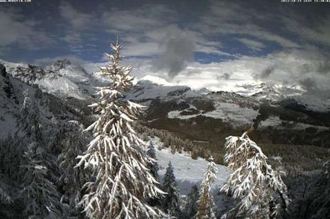 Torgnon - Neve 15 Ottobre