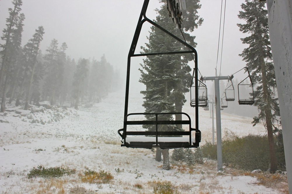 Snowy chairlift at Sierra at Tahoe. Photo:Sierra-at-Tahoe/Facebook
