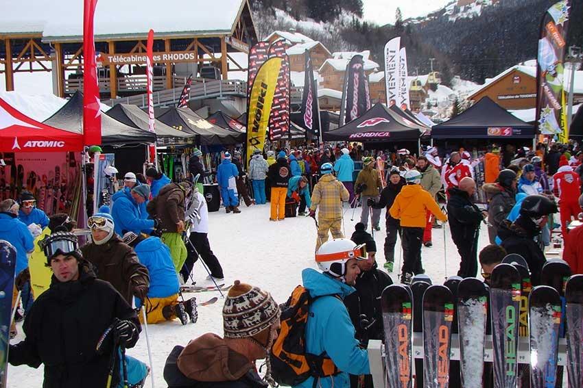 Les sessions de test de skis sont l'occasion idéale pour choisir votre prochaine paire de skis - © Ski-Test-Tour-2012