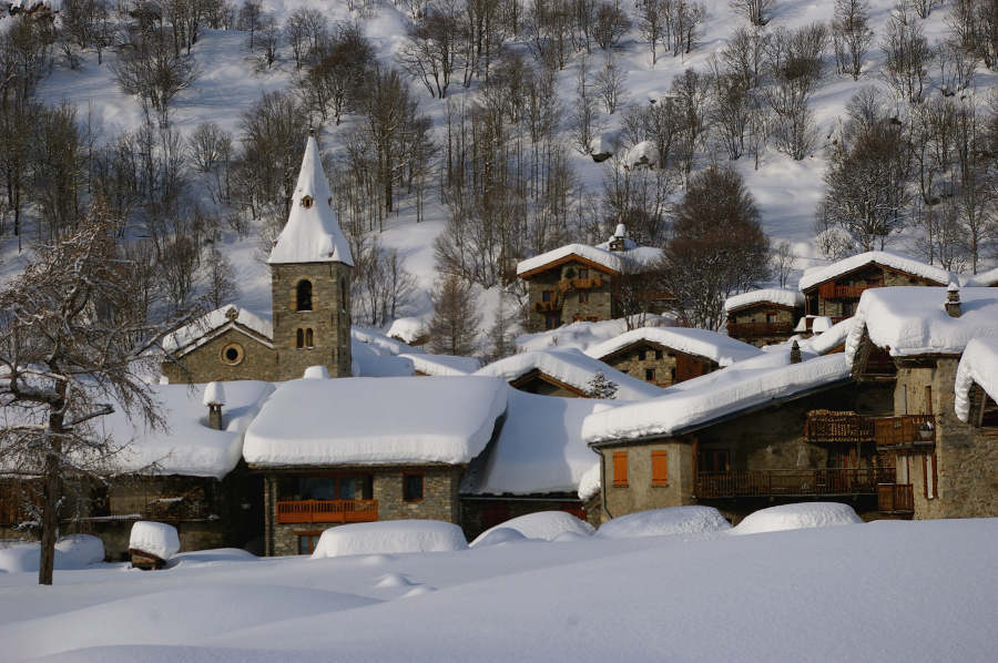 Village de Haute Maurienne Vanoise