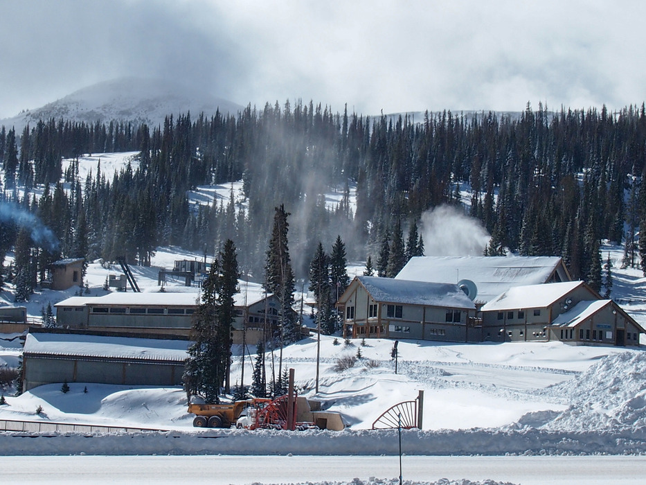 Final touches being made to Wolf Creek Ski Area before opening day  - © Courtesy of Wolf Creek Ski Area