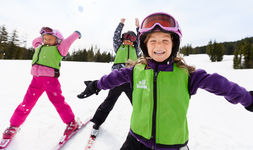 Kids at Mt. Bachelor. Photo by Tyler Roemer, courtesy of Mt. Bachelor. - © Tyler Roemer