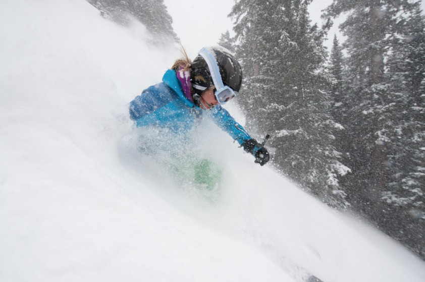 """Irwin Colorado receives of 600"""" of snow per year - © Irwin Colorado"""