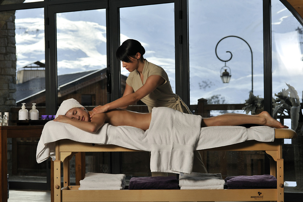 Wellness in Les Menuires - © P. Royer - Les Menuires