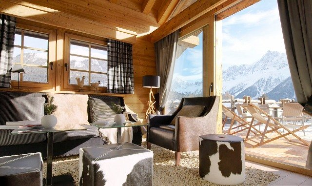 Location de chalet à Chamonix Les Houches - © AEC Collection