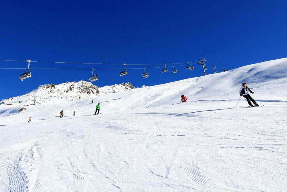 Spacious slopes of Obergurgl-Hochgurgl, Austria - © Obergurgl Tourism