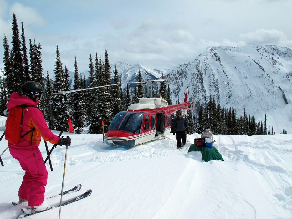 No need to go back to the lodge for lunch, CMH brings it back to you. - © Krista Crabtree