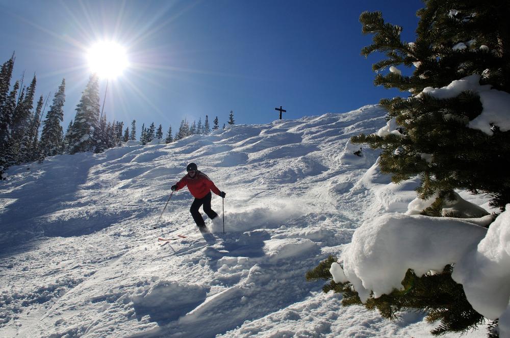 Silvertip-Abfahrt im Skigebiet Telluride, Colorado - © Norbert Eisele-Hein