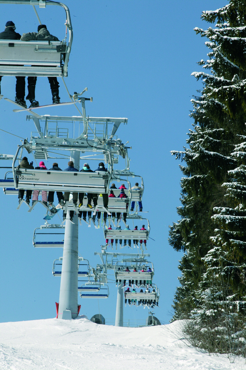 Chairlift in Winterberg - © Wintersport-Arena Sauerland