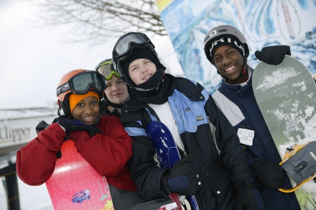 Smiling faces at Crystal Mountain, MI. - © Crystal Mountain