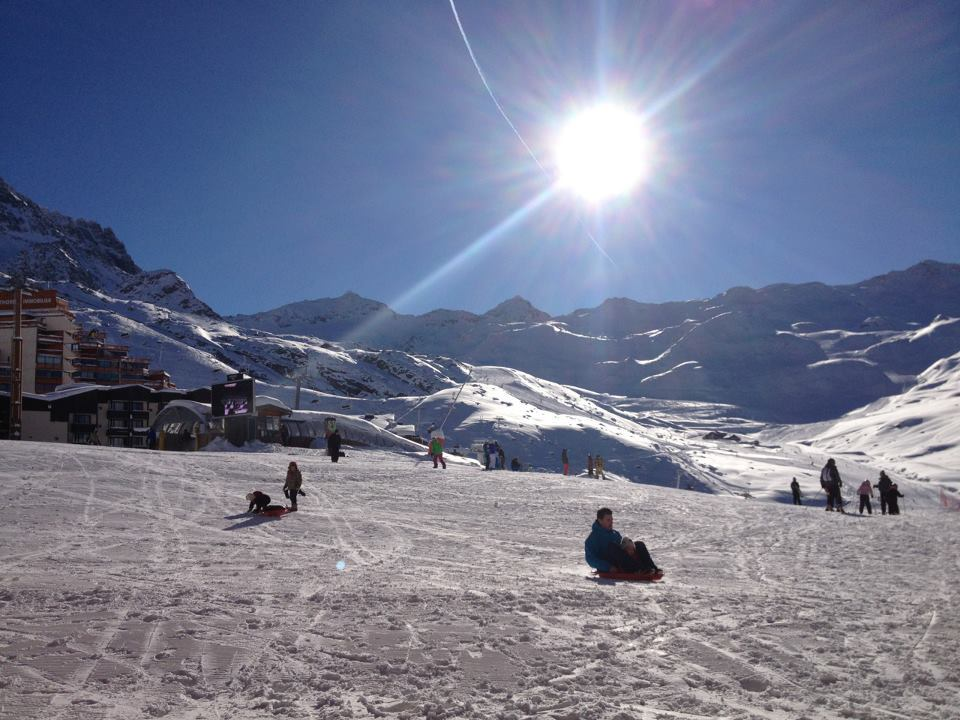Great snow cover in Val Thorens, Dec. 12, 2012