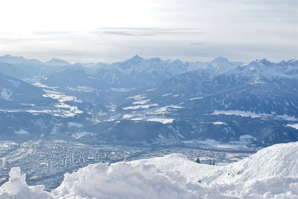 Blick von der Seegrube Richtung Wipptal (Brenner) - © Gernot Schweigkofler