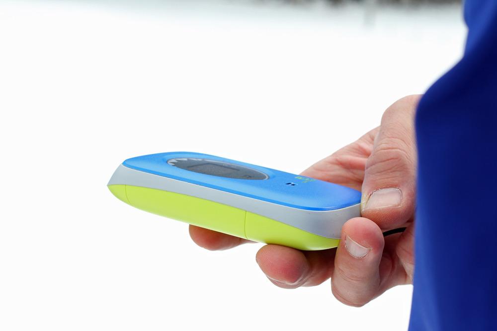 Testlauf der Grobsuche - das LVS-Gerät muss beherrscht werden - © Skiinfo/S. Lindemeyer