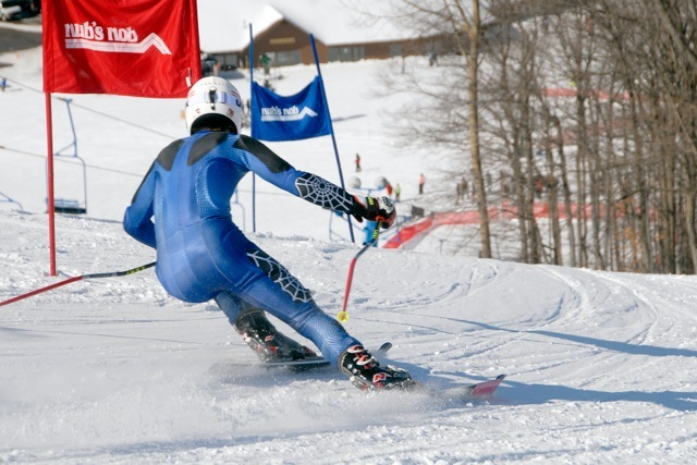 Ski racing at Nub's Nob. - © Nub's Nob
