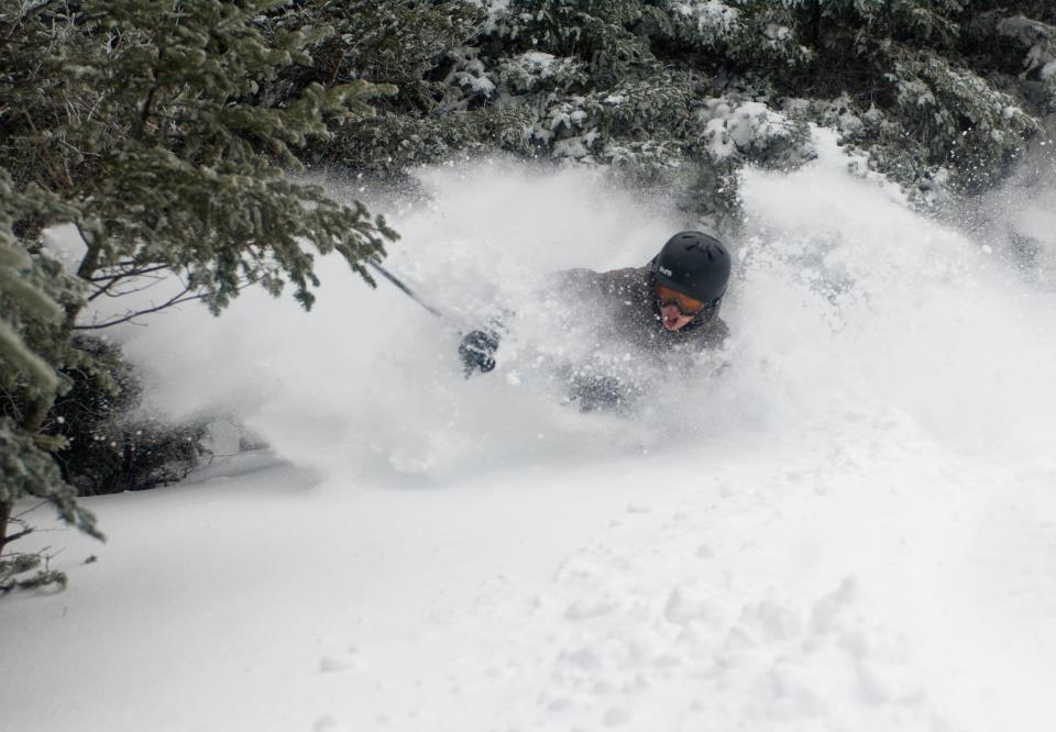 Deep powder turns at Cannon Mountain. 12/27/2012 - © Cannon Mountain/Facebook