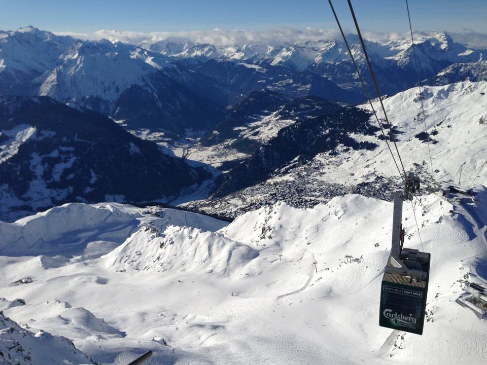Verbier ski area. Dec. 30, 2012. - © Verbier