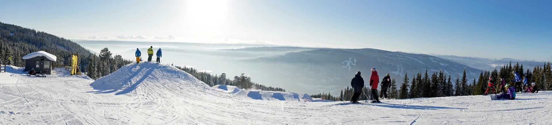 Beste Skimöglichkeiten in der Region Lillehammer - © Hafjell Skisenter