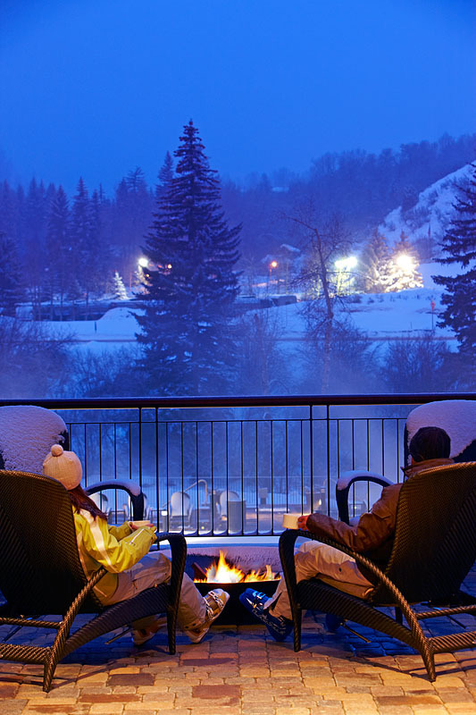 The Westin Riverfront has a gondola directly to the slopes of Beaver Creek. - © Photo courtesy Westin Riverfront.