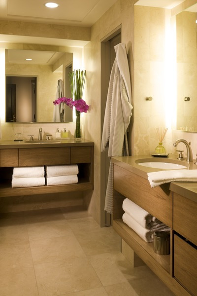 The luxurious bathrooms at the Little Nell. - ©The Little Nell