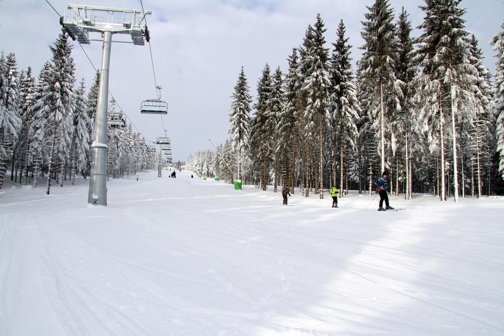 Winterberg in het Sauerland op 13 januari 2013 - © Wintersportarena Sauerland