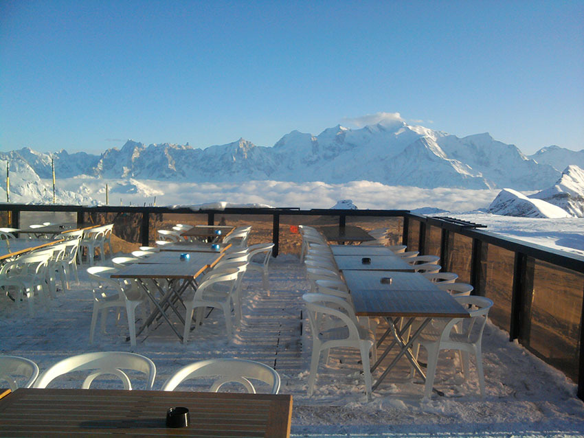 Nos plus belles terrasses avec vue skiinfo for Vue terrasse