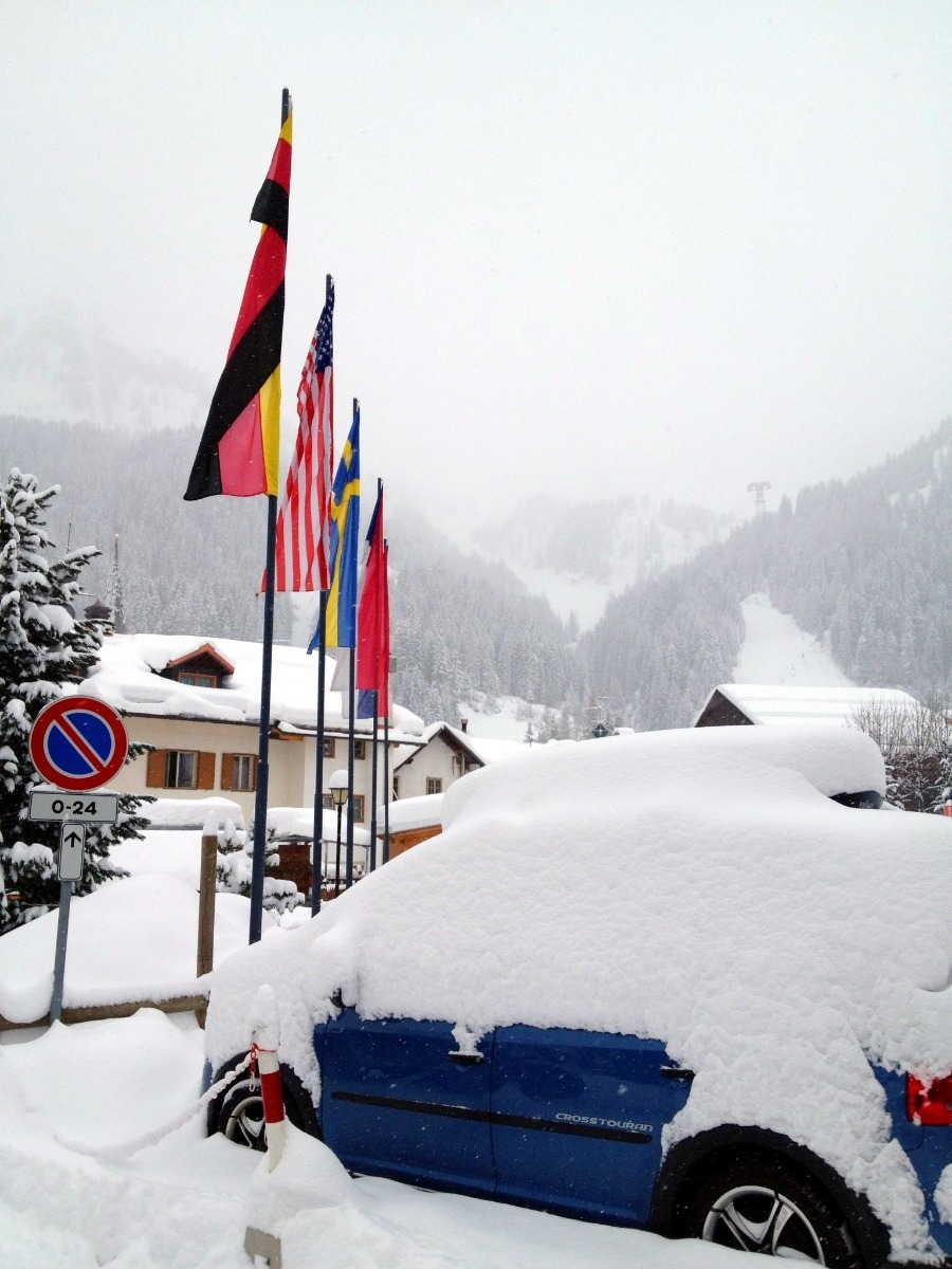 Fresh snow in Arabba, Italy. Jan. 15, 2013 - ©Arabba Fodom Turismo
