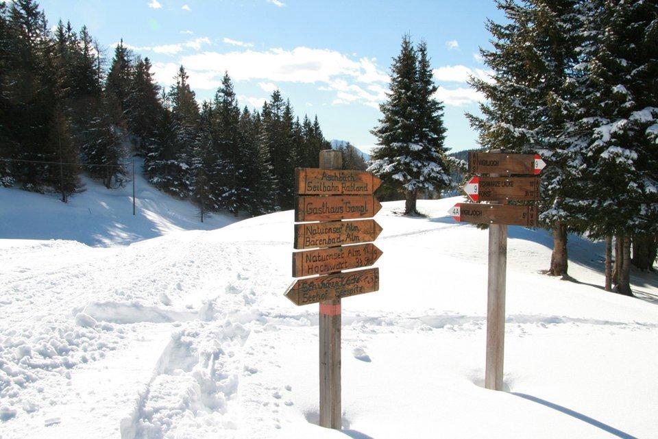 Monte San Vigilio, il fascino invernale