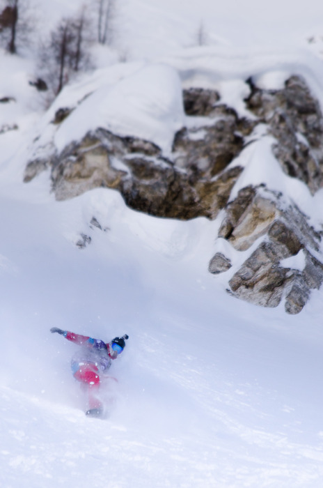 Freeride World Tour 2013 - Courmayeur - © Freerideworldtour.com/ P. Field