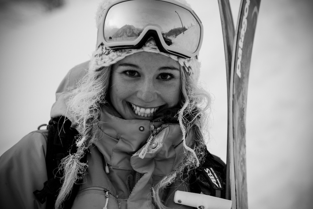 On the day we shot Caroline it was -12, but she was still all smiles. - ©Liam Doran