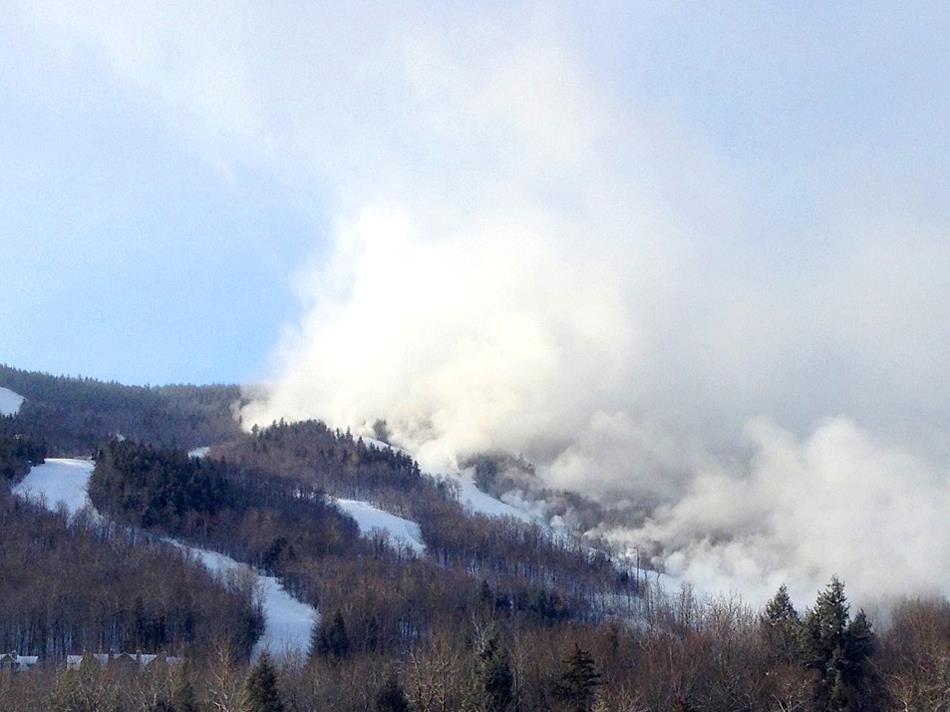 With such cold temperatures, any snowmaking efforts across the region, like the one shown here by Sunday River, will be very productive. - © OpenSnow.com