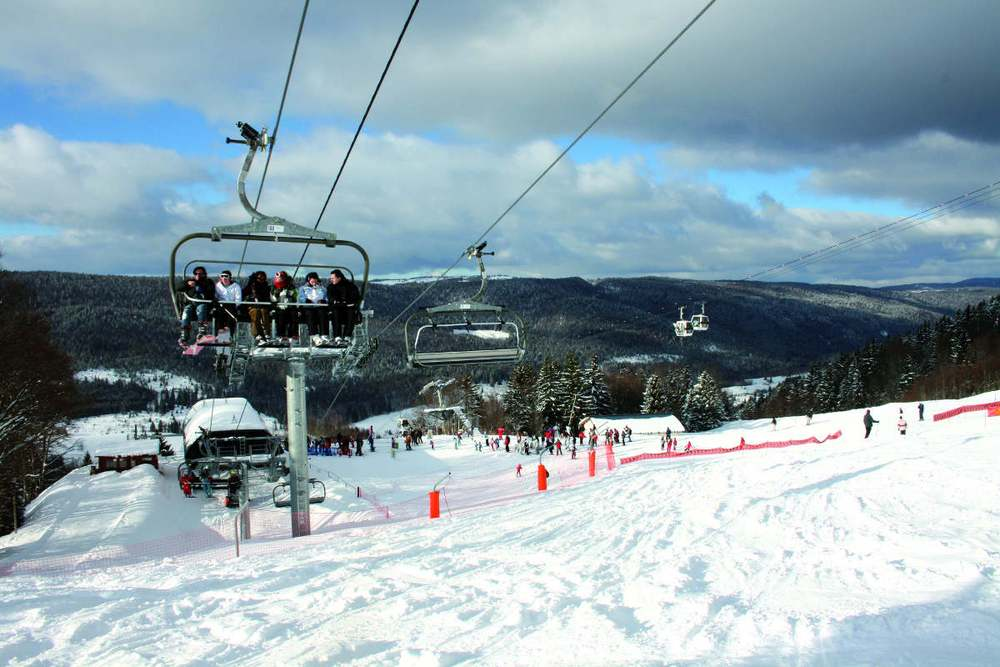 Lélex-Crozet ski area - ©Maison du Tourisme Monts Jura