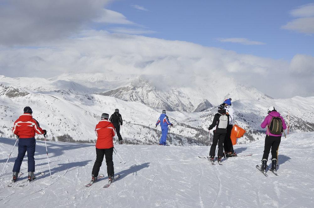 Sestriere, Via Lattea, Piemonte - Fresh snow Jan. 23 2013 - © Ezio Romano