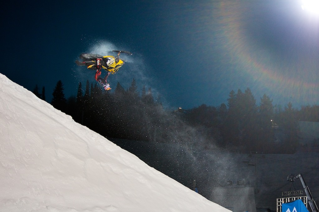 Joe McLafferty in Snowmobile Best Trick - © Jeremy Swanson