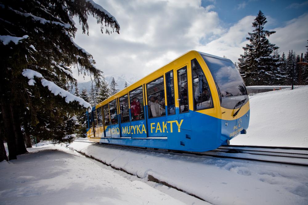 Ski Resort Gubałówka in Zakopane - © Polskie Koleje Linowe