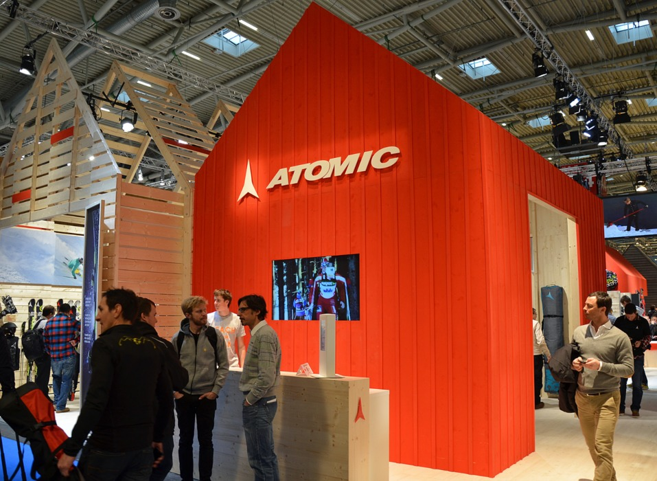 Atomic at ISPO 2013 - © Skiinfo