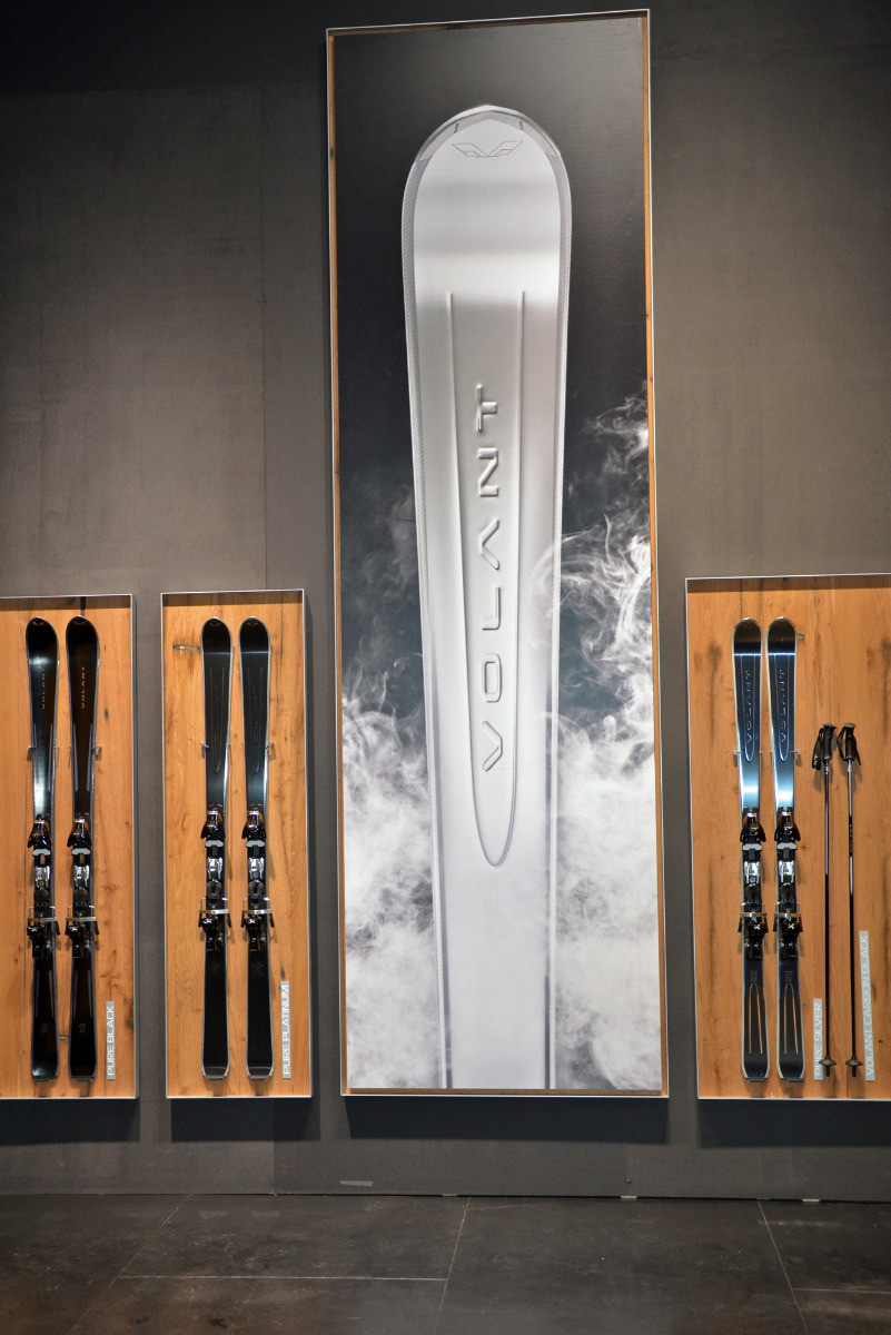 Looking classy: the Volant ski - ©Skiinfo