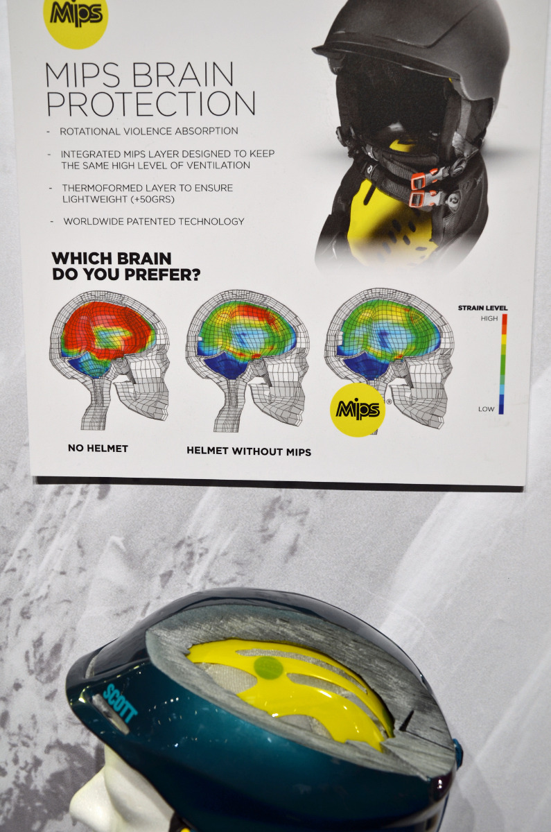 MIPS: extra protection for your brain - © Skiinfo
