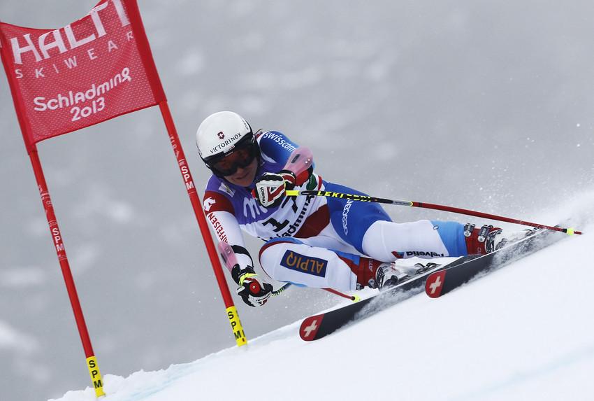 Fabienne Suter fährt als Fünfte ebenfalls sehr gut. - © Alexis Boichard/Agence Zoom