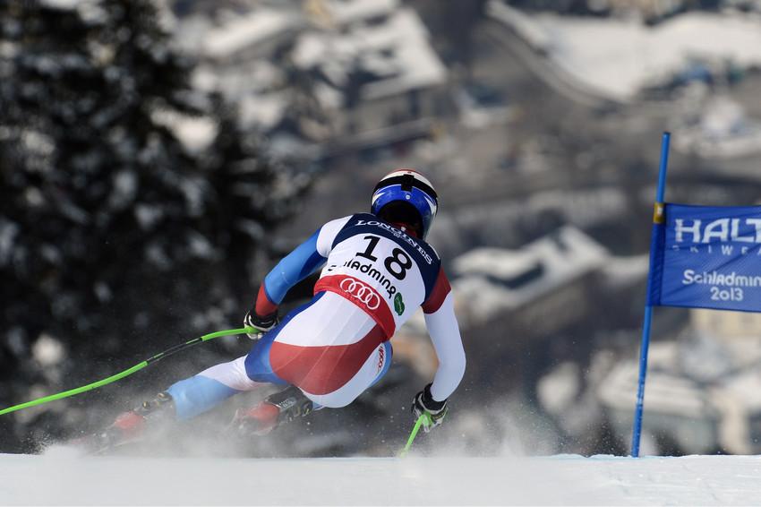 Carlo Janka in der WM Super-Kombination: Immerhin Rang acht. - © Alain Grosclaude/AGENCE ZOOM