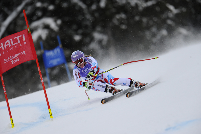 Tessa Worley bei der Ski-WM in Schladming - © Alain Grosclaude / Agence Zoom