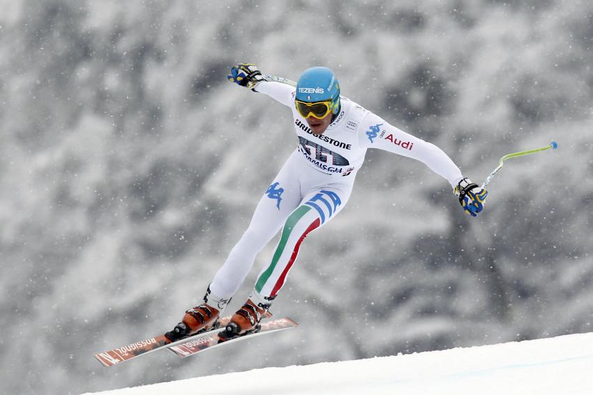 Christof Innerhofer, Garmisch 2013 - © Agence Zoom