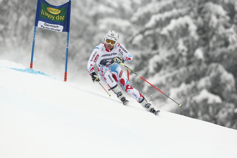 Alexis Pinturault gewann mit zwei tollen Läufen den Riesenslalom in Garmisch - © Hook Baderz/AGENCE ZOOM