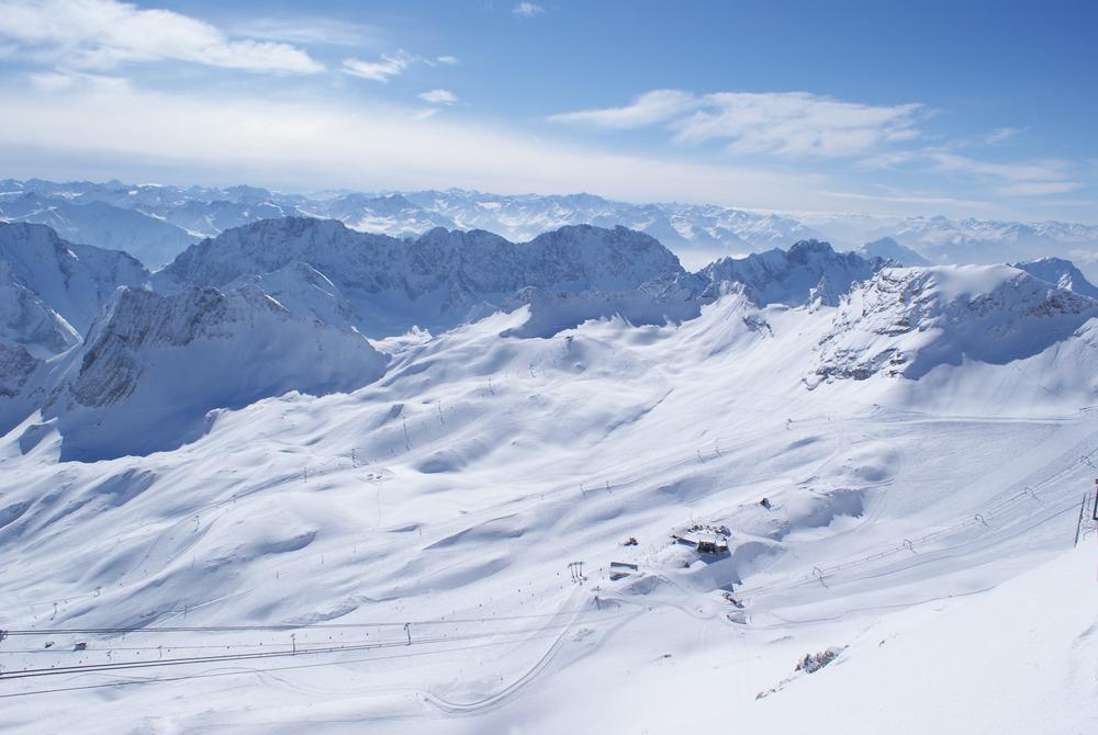 Panorama-Ansicht des Gletscherskigebiets - © Gernot Schweigkofler