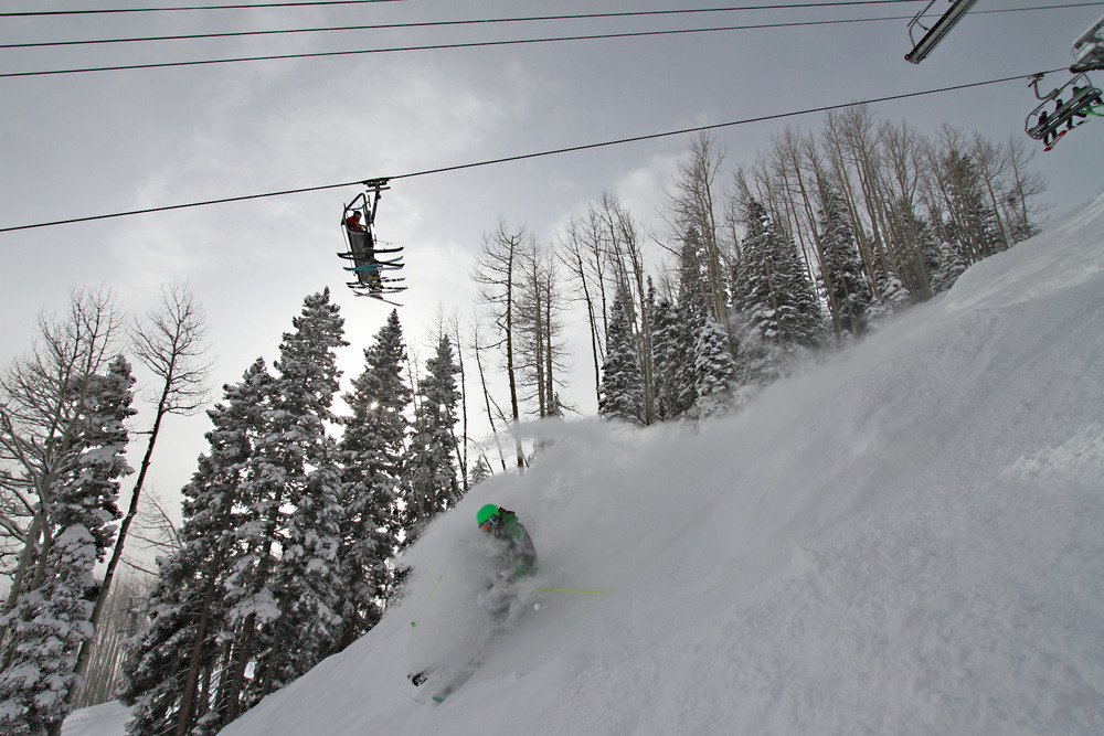 Powder skiing 101 at Durango, Colo.