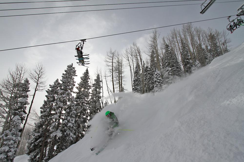 Powder skiing 101 at Durango, Colo.