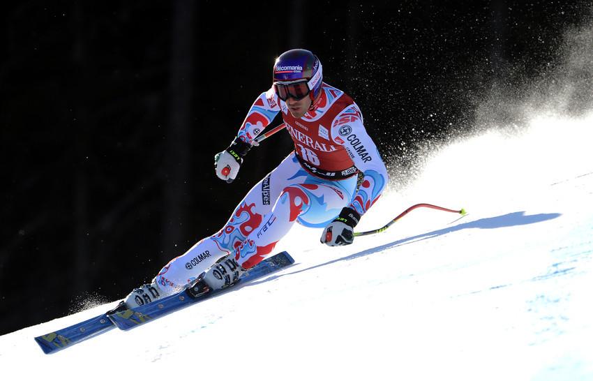 Adrien Theaux gewann mit einer guten fahrt und etwas Rückenwind die Abfahrt von Kvitfjell. - © Jonas Ericsson/AGENCE ZOOM