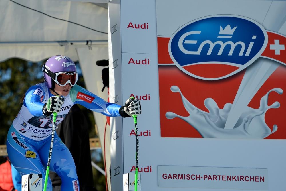 Tina Mazeová, Garmisch-Partenkirchen 2013 - © Swiss-Ski