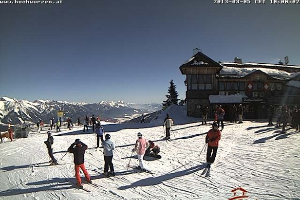 Skifahren und Sonnenschein in Schladming