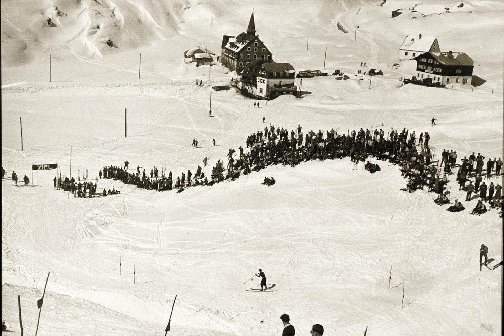 Legendary Kandahar Slalom Race in St. Christoph in 1934. - ©TVB St. Anton am Arlberg