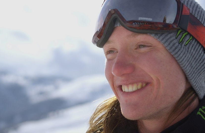 UK freeskier James 'Woodsy' Woods - © BBC